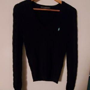 Ralph Lauren Sport Black Long Sleeve Sweater - S